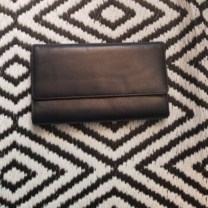 Giani Bernini Clutch Purse. Dark Navy Blue.Vintage
